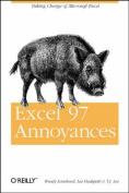 Excel 97 Annoyances