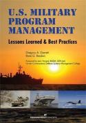 US Military Program Management