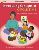 Introducing Concepts at Circle Time