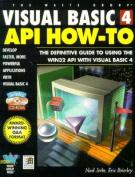 Visual Basic 4 API How-to
