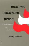 Modern Austrian Prose