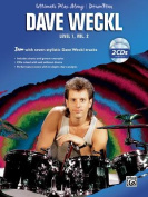 Ultimate Play-Along Drum Trax Dave Weckl, Level 1, Vol 2