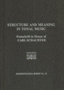 Structure and Meaning in Tonal Music