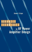 Advanced Techniques in RF Power Amplifier Design