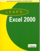 Learn Excel 2000