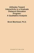 Attitudes Toward Interactivity in a Graduate Distance Education Program