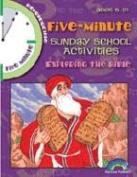 5 Minute Sunday School Activities