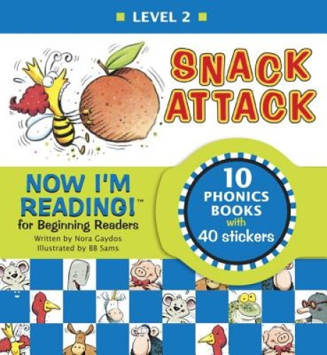 Now I'm Reading! Level 2: Snack Attack (Nir! Leveled Readers) by Nora Gaydos.