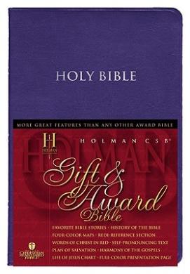 Holman Christian Standard Bible & Award: Black