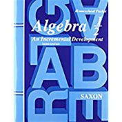 Saxon Algebra 1/2 Answer Key & Tests Third Edition