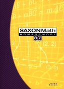 Saxon Math Homeschool 8/7
