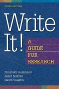 Write it!
