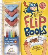 Quick Draw Flip Books [With 4 ClipsWith 5 Mini-MarkersWith 8 Flip Books]