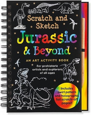 Jurassic & Beyond: An Art Activity Book for Prehistoric Artists and Explorers of All Ages [With Wooden Stylus]