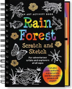 Sketch and Scratch Rain Forest
