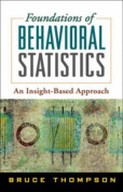 Foundations of Behavioral Statistics