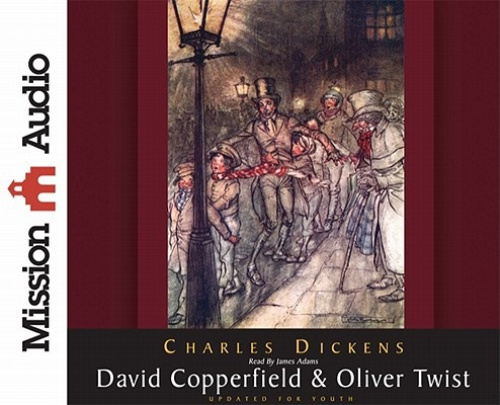 David Copperfield & Oliver Twist [Audio] by Charles Dickens.