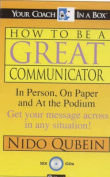 How be Great Communicator  [Audio]