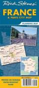 Rick Steves' France & Paris City Map Planning Map