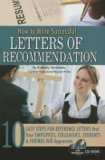 How to Write Successful Letters of Recommendation