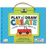 Green Start Play, Draw, Create Trucks