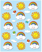 Suns & Rainbows Shape Stickers