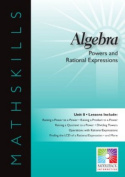Saddkeback Educational Publishing SDL4906 Power And Rational Expressions 10 Lessons Gr 6-12