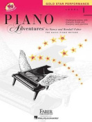 Piano Adventures, Level 1, Gold Star Performance [With CD (Audio)]