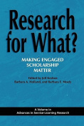 Research for What? Making Engaged Scholarship Matter