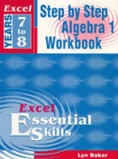 Excel Step by Step Algebra 1
