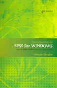 Introduction to SPSS for Windows