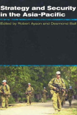 Strategy and Security in the Asia-Pacific: Global and Regional Dynamics