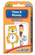 School Zone Flashcards Time & Money