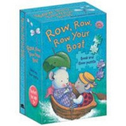 Row, Row, Row Your Boat (Nursery Songs Book & Floor Puzzle) [Board book]