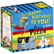 Happy Birthday to You! (Dr Seuss Floor Puzzles) [Board book]