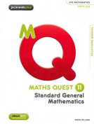 Maths Quest 11 Standard General Mathematics Solutions Manual & EBookPLUS