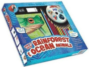 Garry Fleming's How to Draw Rainforest & Ocean Animals [Board book]