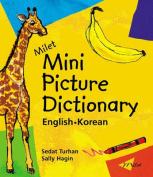 Milet Mini Picture Dictionary (Korean-English)