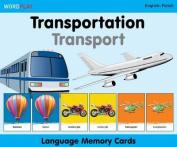 Language Memory Cards - Transportation
