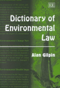 Dictionary of Environmental Law