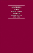 Minorities in the Middle East 4 Volume Hardback Set