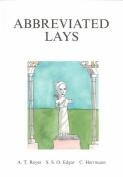 Abbreviated Lays