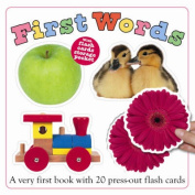 First Words Flash Card Book [Board book]
