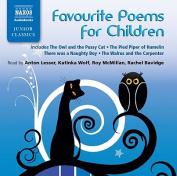 Favourite Poems for Children [Audio]