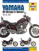 Yamaha XV Virago V-twins Service and Repair Manual