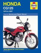 Honda CG125 Service and Repair Manual