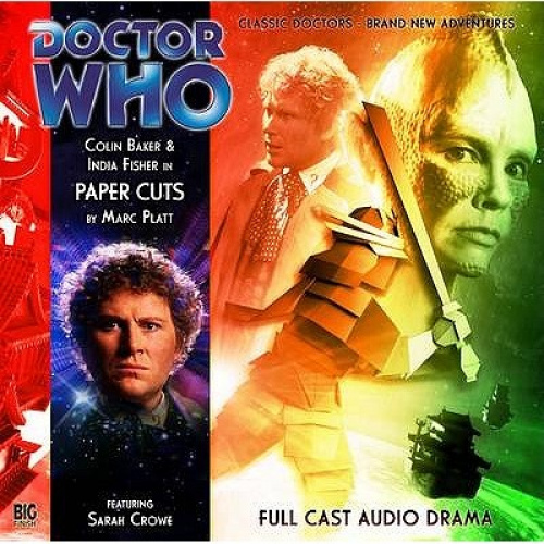 Paper Cuts (Doctor Who) [Audio] by Marc Platt.