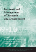 International Management of Research and Development