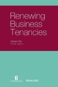 Renewing Business Tenancies