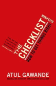The Checklist Manifesto